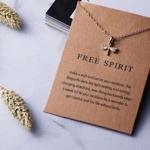 Jewelry - Free Spirit Boho Indie Layering Charm Necklace